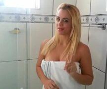 Mulher Tomando Banho - Video Mulher Tomando Banho