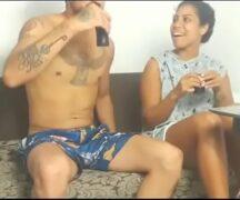 Ebony Anal no sofá de ladinho – Video porno Ebony Anal